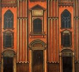 Just A Building by DANIEL MCKINLEY, Painting, Oil on canvas