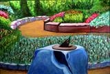 My Secret Garden by DANIEL MCKINLEY, Painting, Oil on canvas