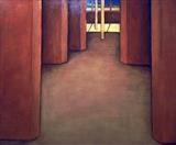 The Other Room by DANIEL MCKINLEY, Painting, Oil on canvas